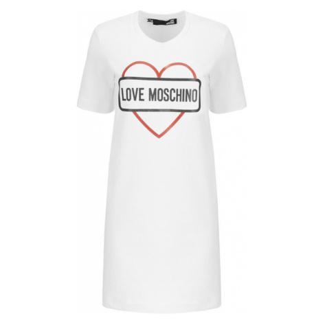 LOVE MOSCHINO Sukienka codzienna W5A0206E2017 Regular Fit