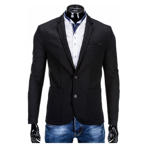 Ombre Clothing Men's casual blazer jacket M56