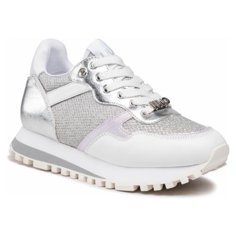 Sneakersy LIU JO - Wonder 1 BA1049 TX163 White/Silver 04370