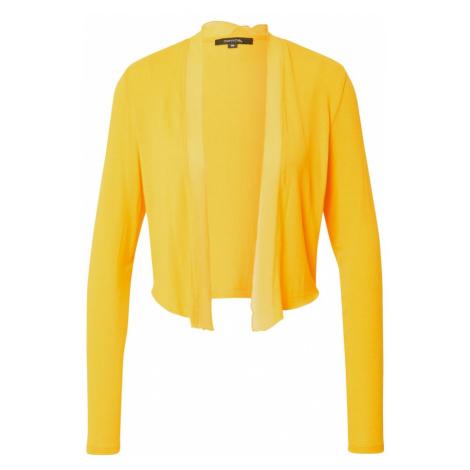 COMMA Kardigan żółty