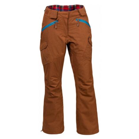 Damskie Spodnie Narciarskie | Brązowe Braccis Lanula Ginger Chica Woox