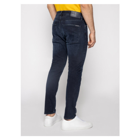 Calvin Klein Jeans Jeansy Skinny Fit J30J314625 Granatowy Skinny Fit