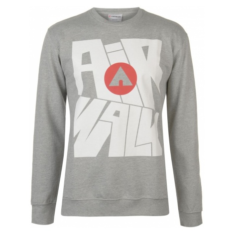 Airwalk Big Logo Sweatshirt Mens