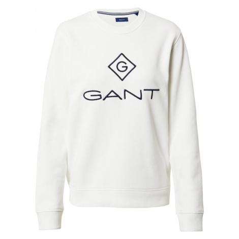 GANT Bluzka sportowa biały / czarny