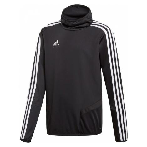 ADIDAS PERFORMANCE Bluza sportowa 'Tiro 19 Warm' czarny / biały