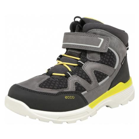 ECCO Kozaki 'Urban Hiker' żółty / szary / czarny