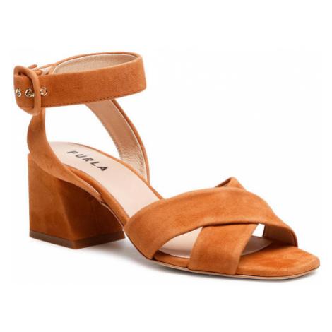 Furla Sandały Cross YD98FCR-C10000-MI000-1-007-20-IT Brązowy