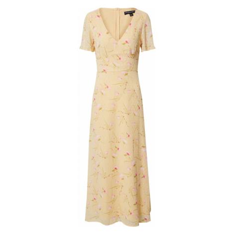Dorothy Perkins Sukienka 'DOBBY' żółty