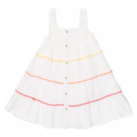 NAME IT Sukienka biały / żółty / czerwony