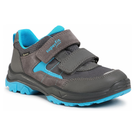 Sneakersy SUPERFIT - GORE-TEX 1-000063-2000 S Grau/Blau