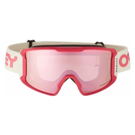 OAKLEY Okulary sportowe 'Line Miner' różowy / rubinowo-czerwony / biały