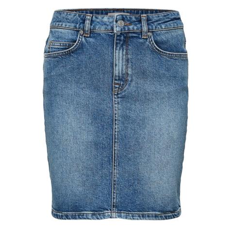 SELECTED FEMME Spódnica niebieski denim