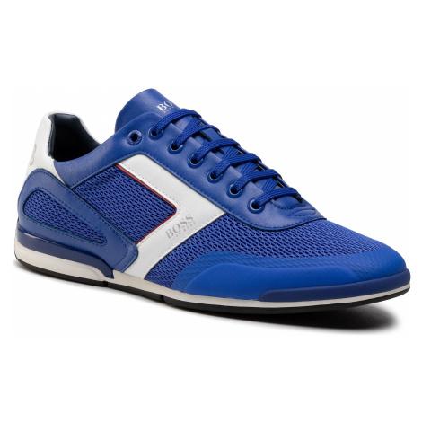 Sneakersy BOSS - Saturn 50445677 10230782 01 Bright Blue 430 Hugo Boss