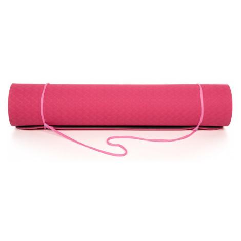 Różowa mata do jogi LOAP Aarti