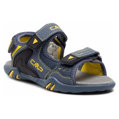 Sandały CMP - Alphard Hiking Sandal 39Q9614 Antracite/Limone 86UG
