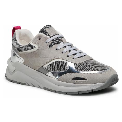 Sneakersy BOSS - Skylar 50447473 10233158 01 Open Grey 061 Hugo Boss