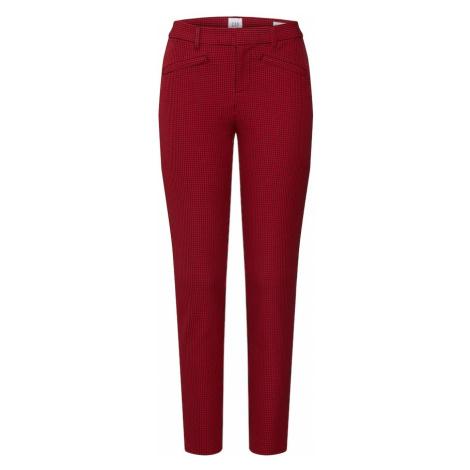 GAP Spodnie 'CREPE' czerwony / czarny