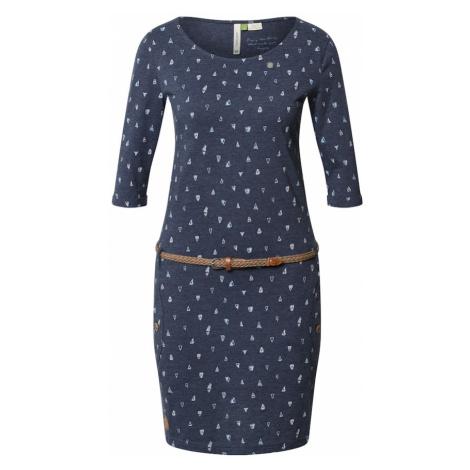 Ragwear Sukienka 'TANYA' granatowy / biały / różowy pudrowy