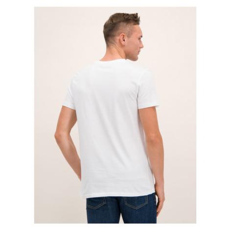 Fila T-Shirt 682099 Biały Regular Fit