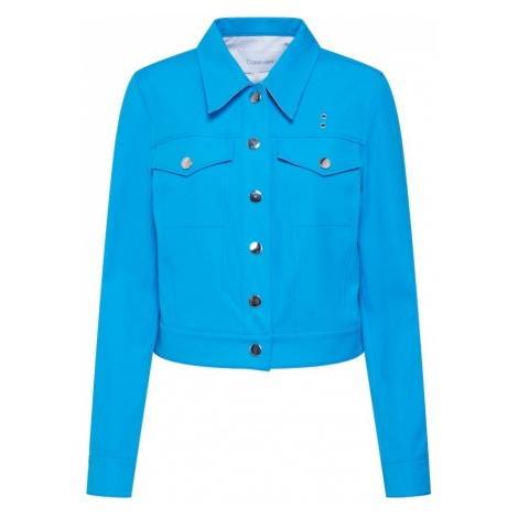 Calvin Klein Kurtka przejściowa 'WESTERN JKT' niebieski