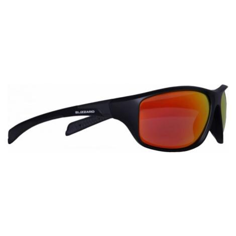 Blizzard BLACK MATT POL   - Okulary przeciwsłoneczne polaryzacyjne