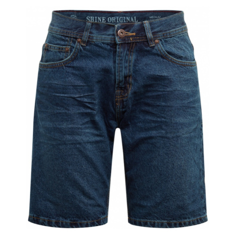 SHINE ORIGINAL Jeansy niebieski denim