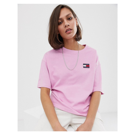 Tommy Jeans recycled badge logo tee Tommy Hilfiger