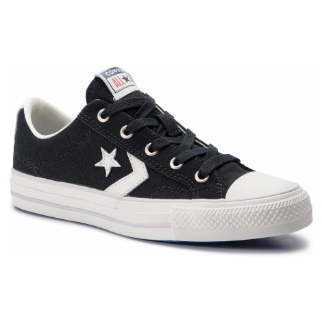 Trampki CONVERSE - Star Player Ox Bla 163964C Black/Vintage Whit