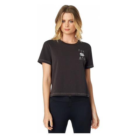 koszulka Fox Rosey Crop - Black Vintage