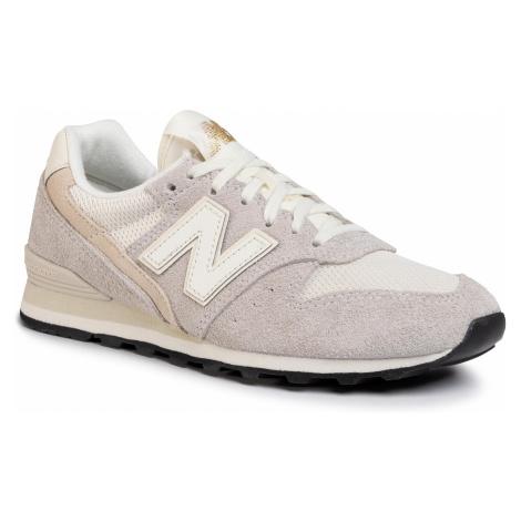Sneakersy NEW BALANCE - WL996VHA Beżowy Szary