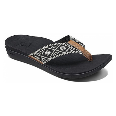 japonki Reef Ortho-Bounce Woven - Black/White