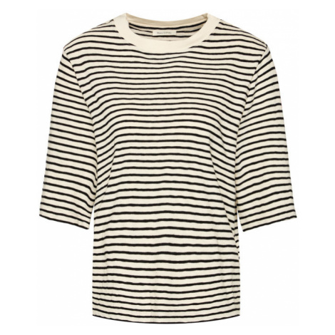 Marc O'Polo T-Shirt 006 2090 52241 Beżowy Oversize