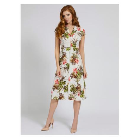 Długa Sukienka Marciano W Kwiaty Marciano Guess