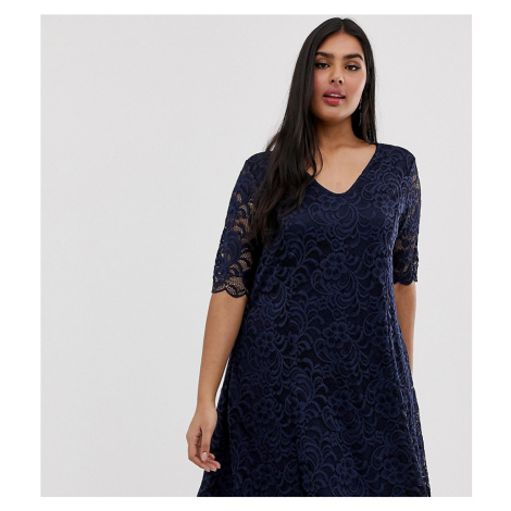 Junarose lace skater dress