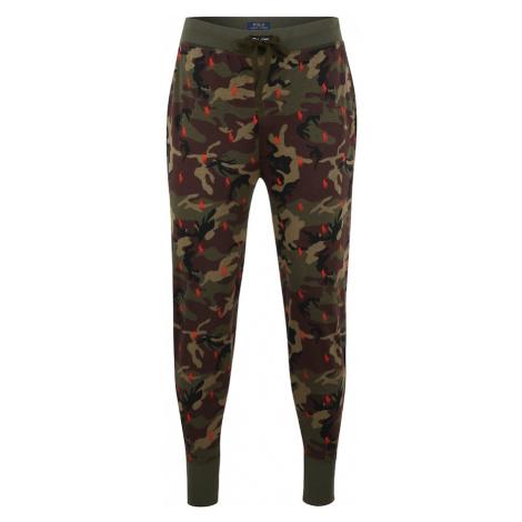 POLO RALPH LAUREN Spodnie od piżamy mieszane kolory / khaki
