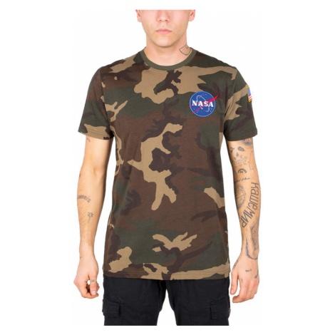 Koszulka męska Alpha Industries Space 176507 408