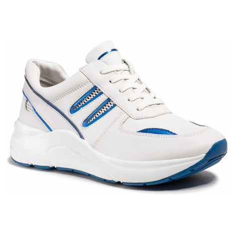 Sneakersy CAPRICE - 9-23506-34 White/Blue 137