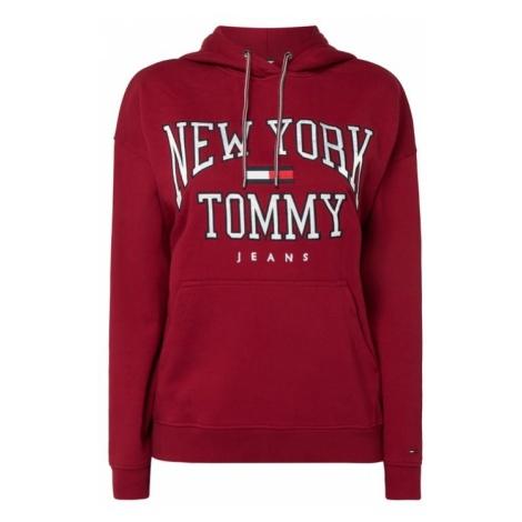 Bluza z kapturem oversized z aplikacją z logo Tommy Hilfiger