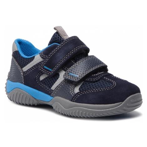 Sneakersy SUPERFIT - 8-09380-80 Blau/Blau S