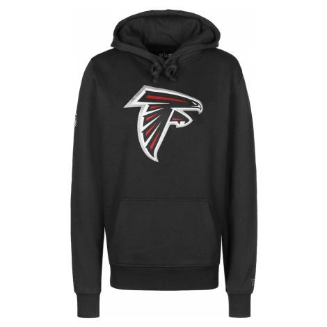 NEW ERA Bluzka sportowa 'Atlanta Falcons' czarny / biały / jasnoczerwony / srebrny
