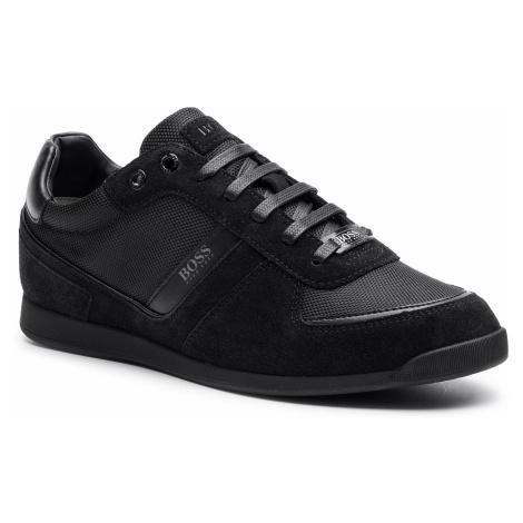 Sneakersy BOSS - Glaze 50407903 10214592 01 Black 001 Hugo Boss