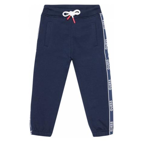 Guess Spodnie dresowe N1RQ03 KA6R0 Granatowy Regular Fit