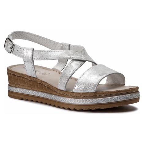 Sandały LASOCKI - H229 Silver 1