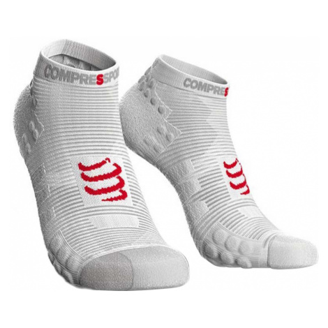 Skarpetki Compressport Pro Racing Socks V3 Run Low U Białe