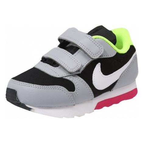 Nike Sportswear Trampki 'Runner 2' szary / różowy / czarny / biały