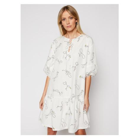 Levi's® Sukienka codzienna Isla 29396-0002 Biały Loose Fit Levi´s