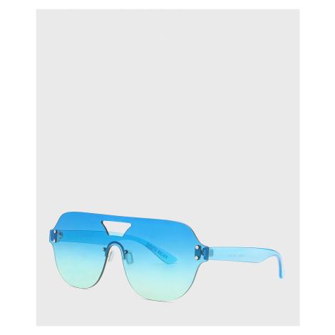 Niebieskie okulary przeciwsłoneczne
