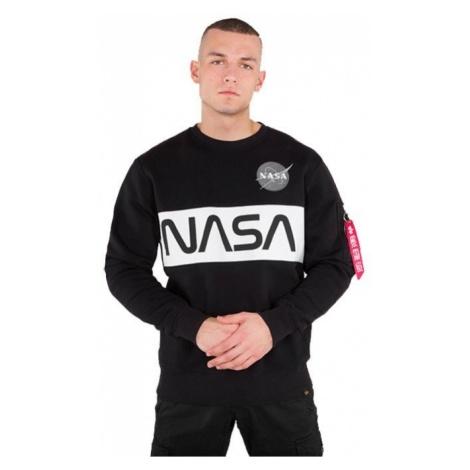 Bluza męska Alpha Industries Nasa Inlay Sweater 178308 03