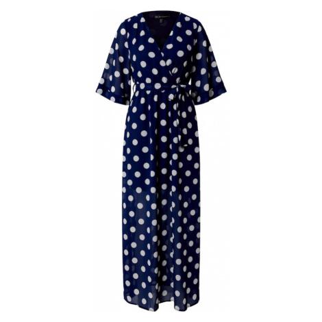 Mela London Sukienka 'POLKA DOT' biały / granatowy