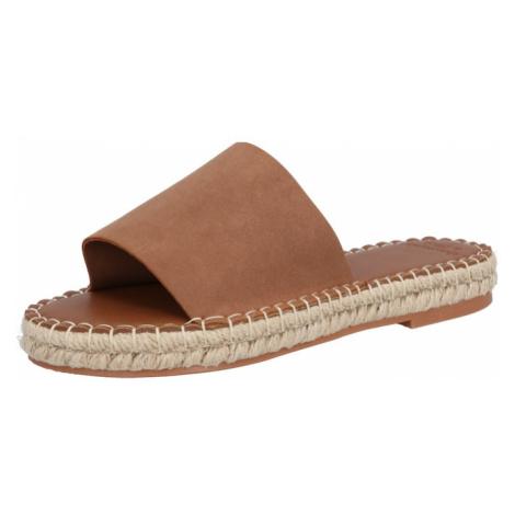 Abercrombie & Fitch Pantofle 'KI154-2205' brązowy